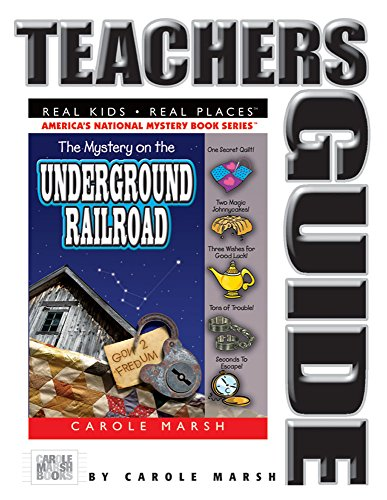 9780635021113: The Mystery on the Underground Railroad Teacher's Guide (12) (Real Kids Real Places)