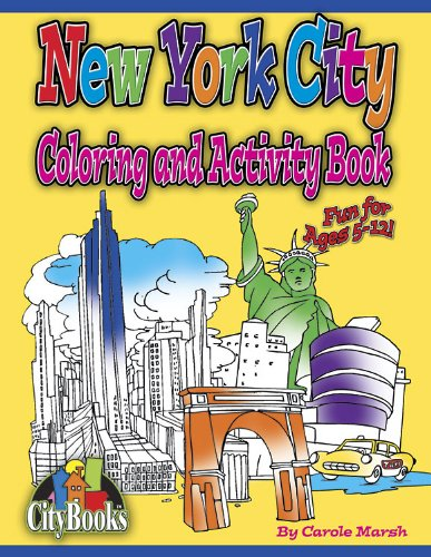 New York City Coloring & Activity Book (City Activity Books)