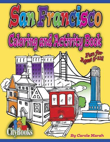 San Francisco Coloring & Activity Book (City Activity Books)