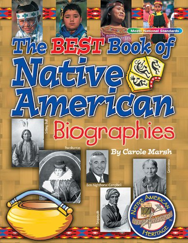 9780635024008: Best Book of Native American Biographies (Native American Heritage)