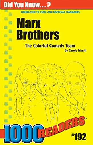9780635026507: Marx Brothers: The Colorful Comedy Team (192) (1000 Readers)
