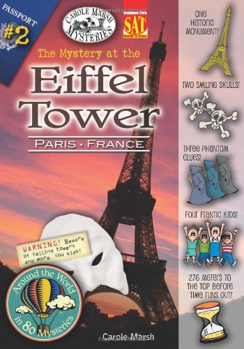 9780635034717: The Mystery at the Eiffel Tower (Around the World in 80 Mysteries)