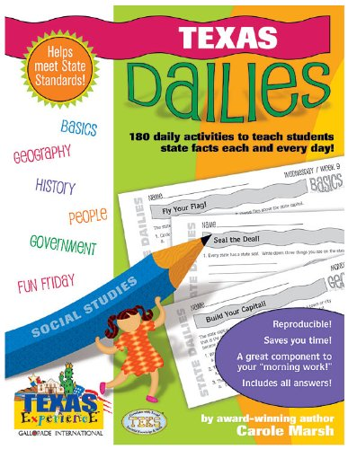 9780635062949: Texas Dailies: 180 Daily Activities for Kids (Texas Experience)