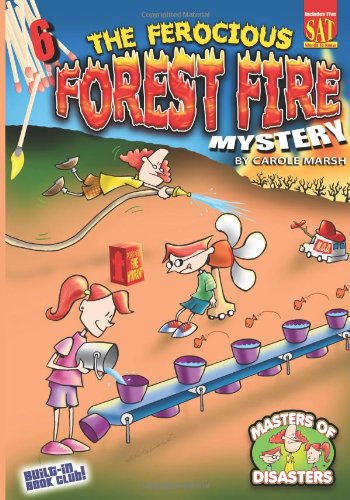 9780635064653: The Ferocious Forest Fire Mystery