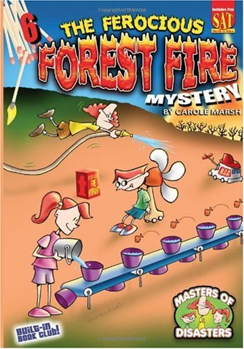 9780635064684: The Ferocious Forest Fire Mystery (6) (Masters of Disasters)