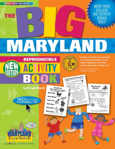 9780635064745: The BIG Maryland Reproducible Activity Book-New Version (Maryland Experience)