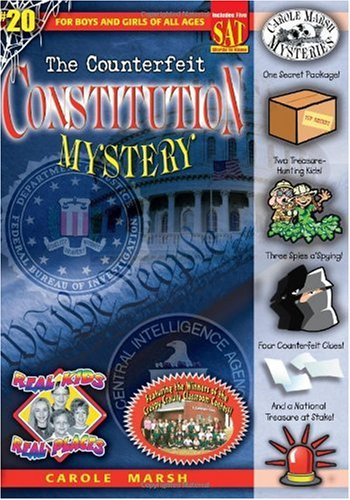 9780635065179: The Counterfeit Constitution Mystery (Real Kids! Real Places!)