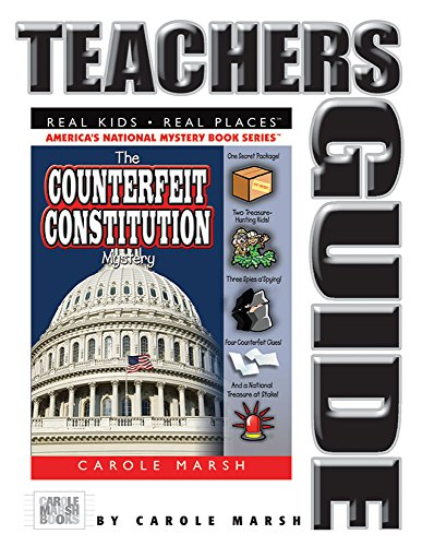 9780635066190: The Counterfeit Constitution Mystery Teacher's Guide (20) (Real Kids Real Places)