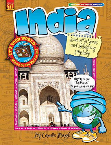 9780635068132: India: Land of Six Senses and Intriguing Mystery! (It's Your World)