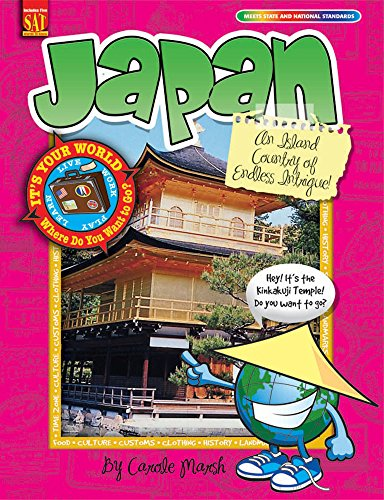 9780635068194: Japan: An Island Country of Endless Intrigue! (It's Your World)