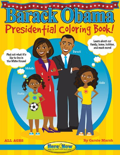 9780635070500: Barack Obama Presidential Coloring Book (Here & Now)