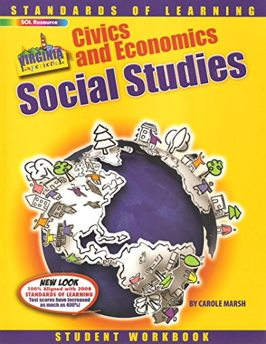9780635073181: Standards of Learning - Virginia Civics, Economics, Social Studies Student Workbook