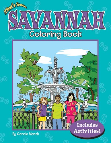 9780635074201: That's Soooo Savannah Coloring Book (Non-State)
