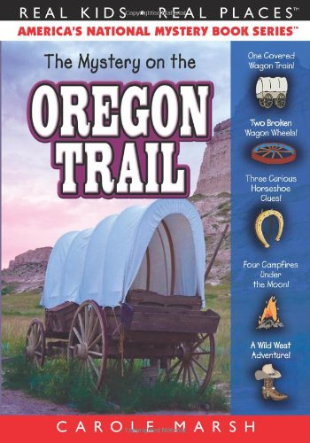 9780635074409: The Mystery on the Oregon Trail: Covered Wagons, Prairies and Pioneers