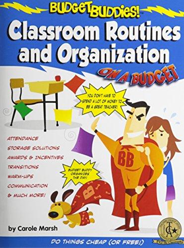 9780635075109: Budget Buddies Classroom Routines and Organization