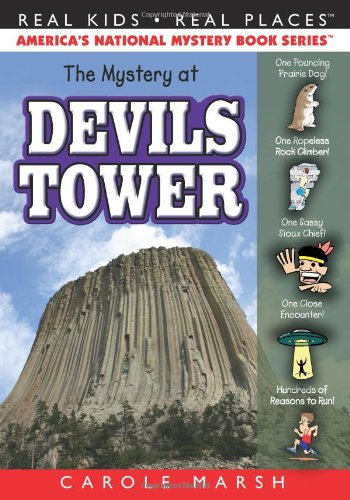 9780635075994: The Mystery at Devils Tower (40) (Real Kids Real Places)