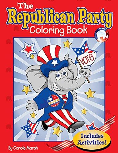 9780635079763: The Republican Party Coloring Book (Patriotic Favorites)