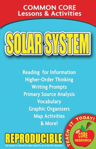 9780635105981: Solar System - Common Core Lessons and Activities