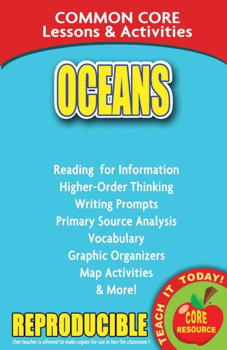 9780635106032: Oceans - Common Core Lessons and Activities