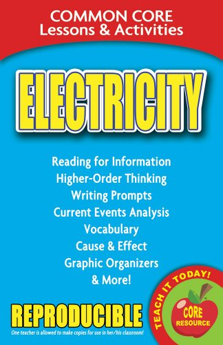 9780635106148: Electricity - Common Core Lessons and Activities