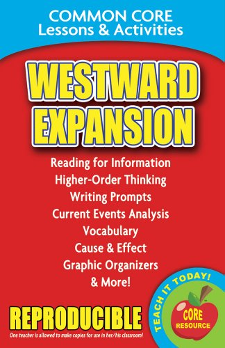 9780635106261: Westward Expansion - Common Core Lessons and Activities