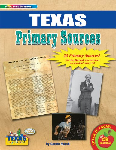 9780635107718: Texas Primary Sources (Texas Experience)