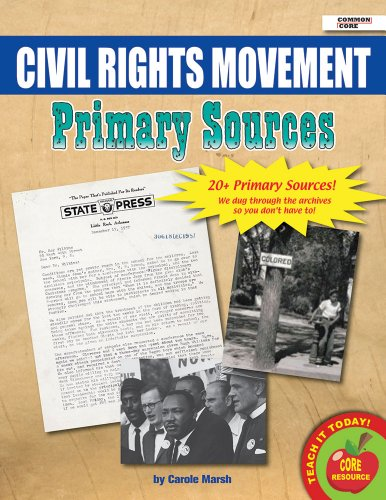 9780635108418: Civil Rights Movement Primary Sources Pack (20)