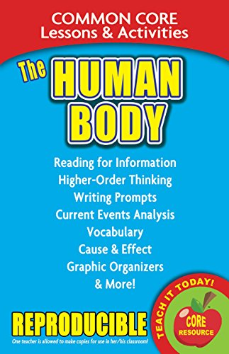 The Human Body: Common Core Lessons and: Marsh, Carole