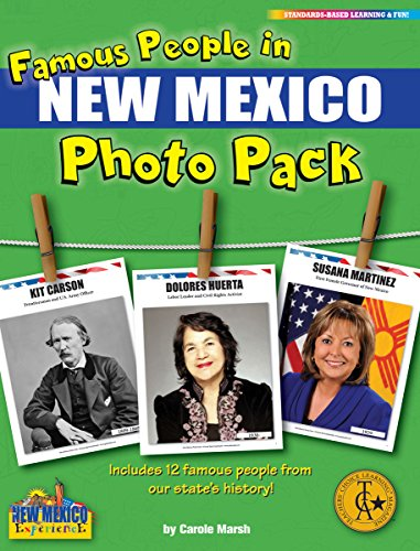 9780635122551: Gallopade Publishing Group Famous People from New Mexico Photo Pack (9780635122551)