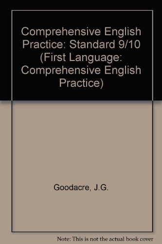 9780636000971: Comprehensive English Practice: Standard 9/10 (First Language: Comprehensive English Practice)