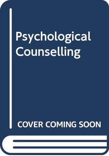 9780636015937: Psychological Counselling