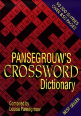 Pansegrouws Crossword Dictionary: Pansegrouw, L.L.