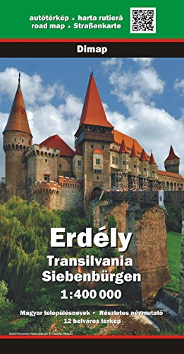 9780639051826: Transylvania (Romania) 1:400,000 Touring Map GPS-compatible DIMAP 2011 edition