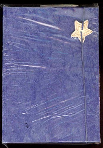 9780641580413: Sapphire Rustic Paper Journal with Star 8x6