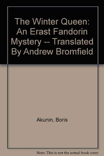 9780641669033: The winter queen / Boris Akunin ; translated by Andrew Bromfield
