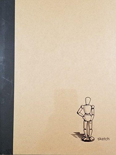 9780641818165: Artist Model Icon Kraft Cover Sketchbook 9.5 x 12