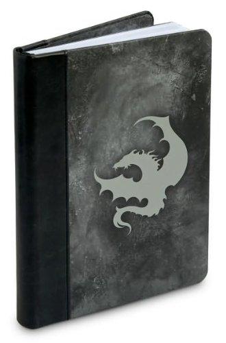 9780641998386: Dragon Silver Metallic Lined Journal (6x8)