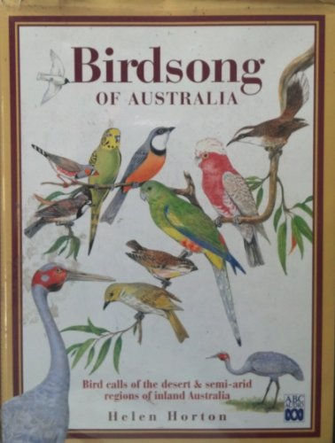 9780642128508: Birdsong of Australia: Book and Cassette: An Introduction to Beautiful Australian Bird Calls (ABC audio tapes)