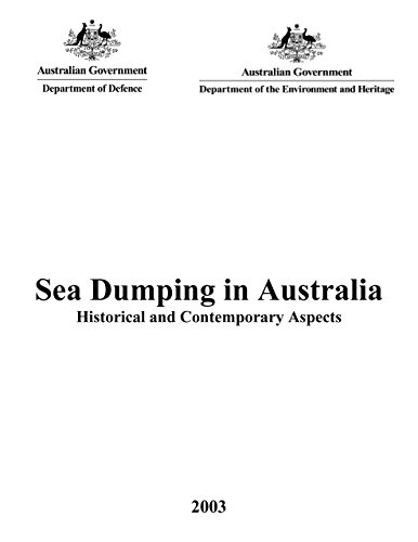 9780642295880: Sea Dumping in Australia (Historical and Contemporary Aspects)