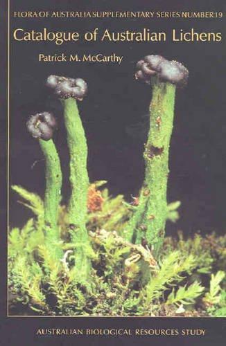9780642568274: Catalogue of Australian Lichens (Flora of Australia Supplementary Series)