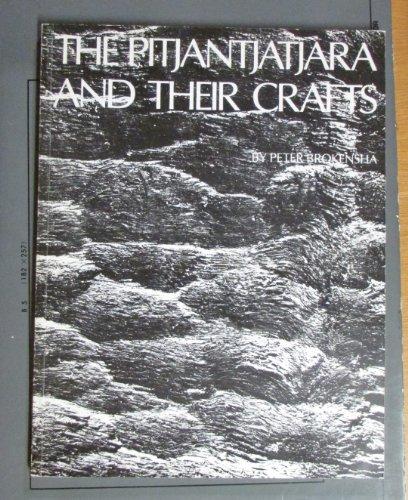 The Pitjantjatjara and their crafts: BROKENSHA, Peter