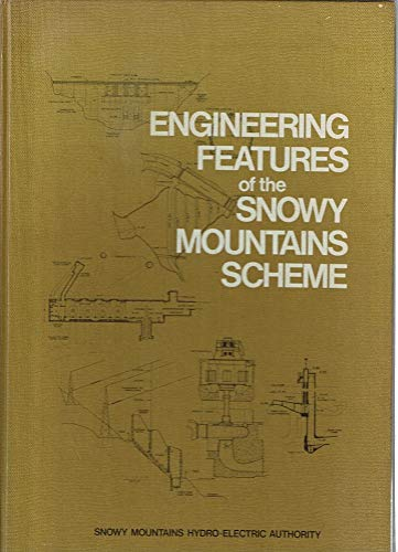 9780642955814: Engineering features of the Snowy Mountains Scheme