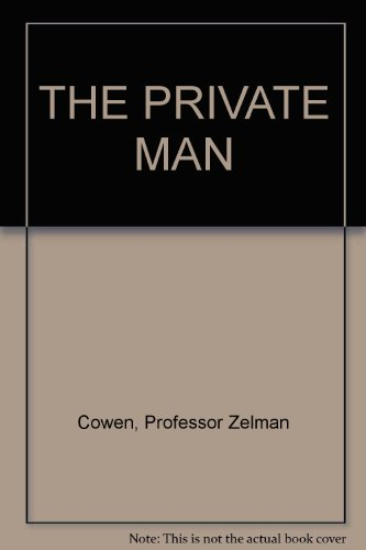 9780642973610: THE PRIVATE MAN
