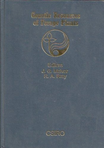 GENETIC RESOURCES OF FORAGE PLANTS.: MC IVOR, J. G. & R. A. Bray.