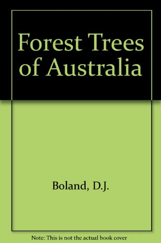 9780643054233: Forest Trees of Australia