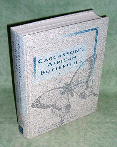 9780643055612: Carcasson's African Butterflies: An Annotated Catalogue of the Papilionoidea and Hesperioidea of the Afrotropical Region