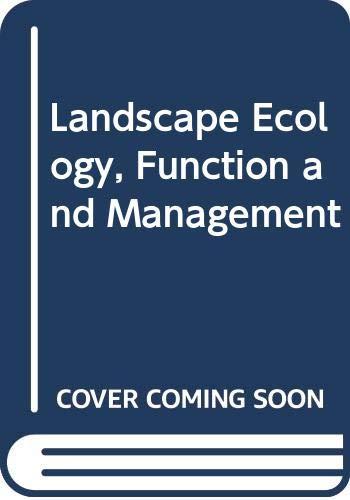 9780643057975: Landscape Ecology, Function and Management