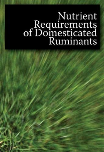 9780643092624: Nutrient Requirements of Domesticated Ruminants