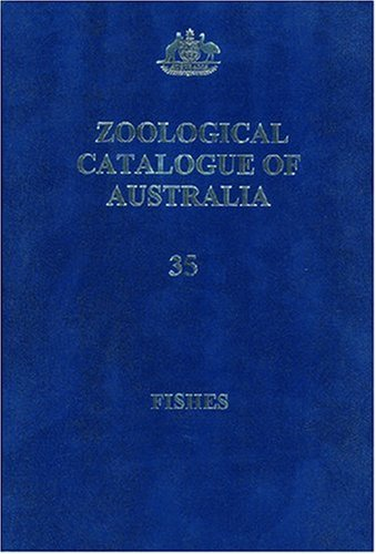 9780643093348: Zoological Catalogue of Australia V.35, Parts 1 to 3: Fishes