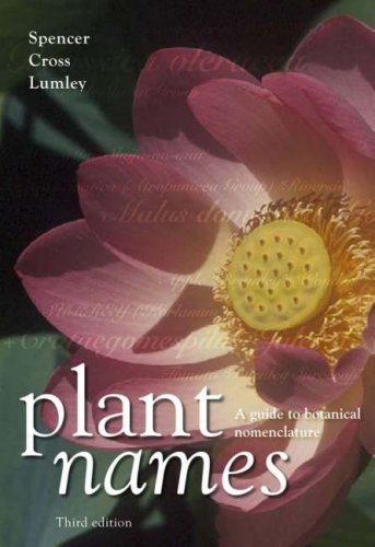 9780643094406: Plant Names: A Guide to Botanical Nomenclature